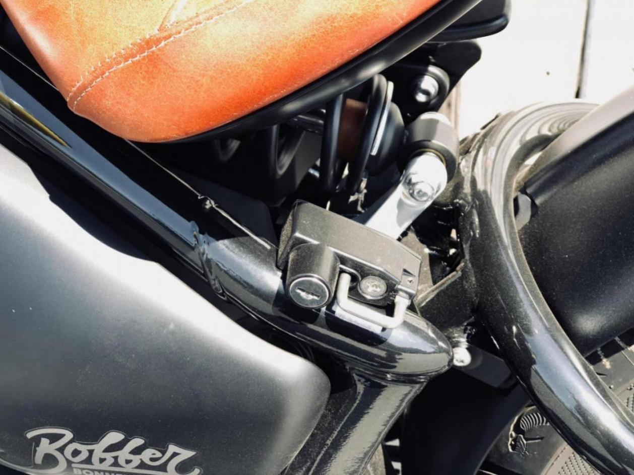 Kijima Helmet Lock Triumph Bobber Forum
