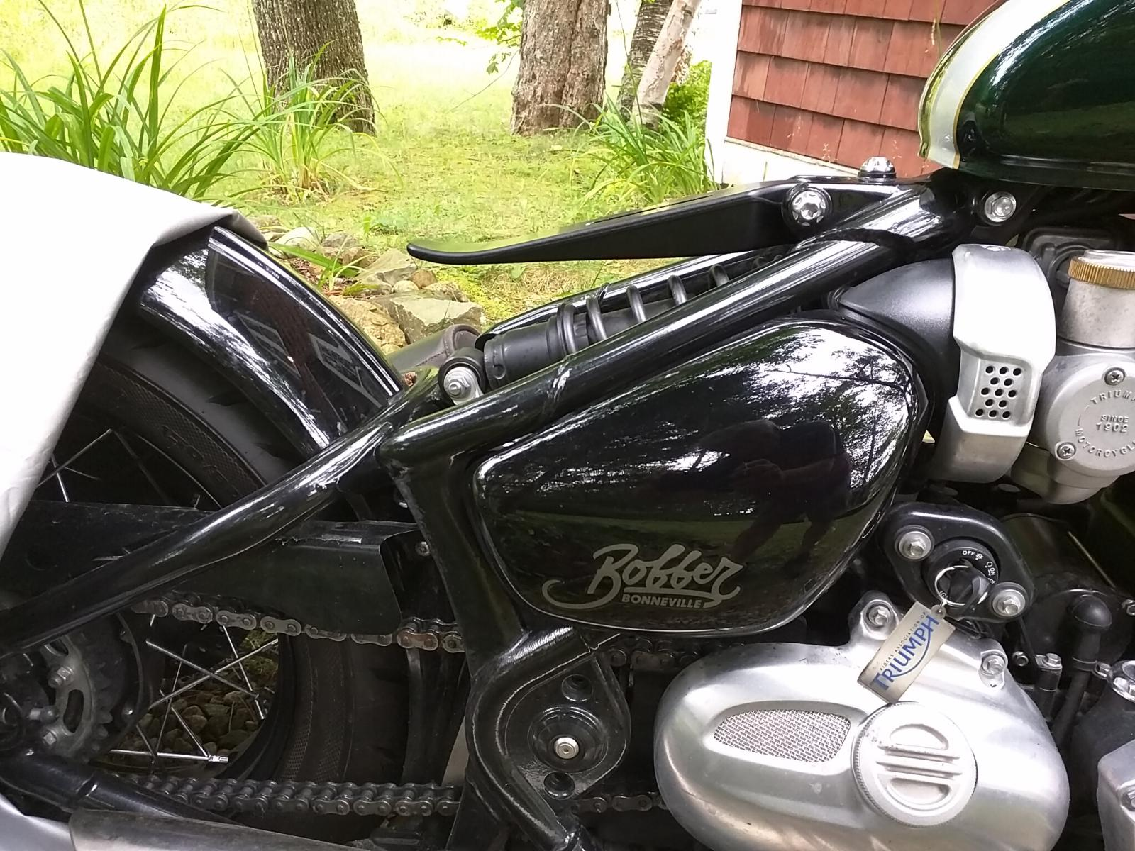 Seat Adjustment And Shimming To Change Height Angle Triumph Bobber Forum
