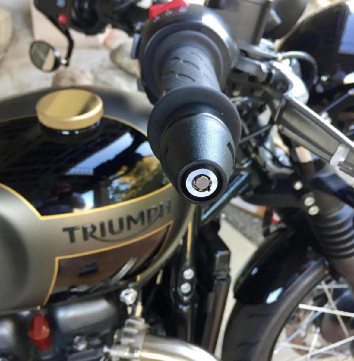 Helmet Lock Triumph Bobber Forum