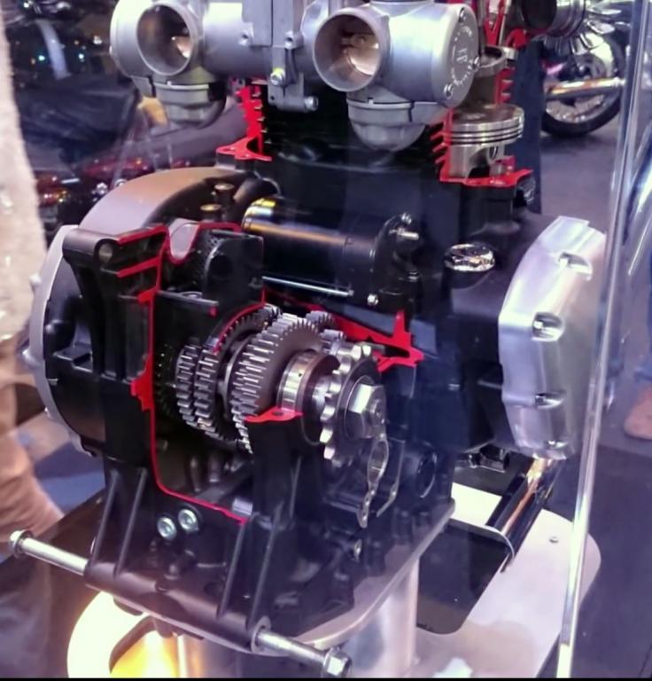 Triumph Bobber Forum Zanettis Album T120 Engine Cut Aways Picture